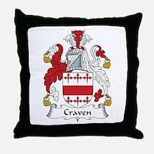 Craven Throw Pillow