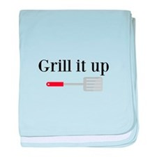 Grill it up Spatula baby blanket