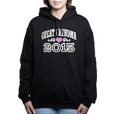Great Grandma 2015 Women's Hooded Sweatshirt