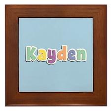Kayden Spring14 Framed Tile