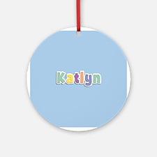 Katlyn Spring14 Ornament (Round)