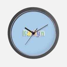 Katlyn Spring14 Wall Clock
