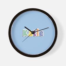 Katie Spring14 Wall Clock