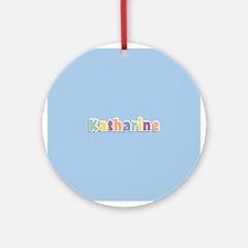 Katharine Spring14 Ornament (Round)