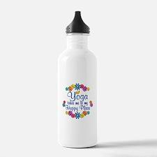 Yoga Happy Place Water Bottle