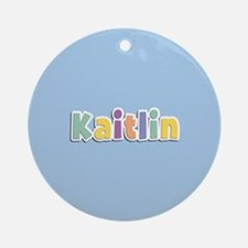 Kaitlin Spring14 Ornament (Round)
