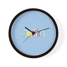 Juliet Spring14 Wall Clock