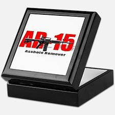 Ar15 (adult Humor) Keepsake Box