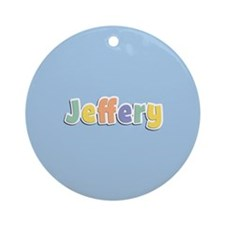 Jeffery Spring14 Ornament (Round)