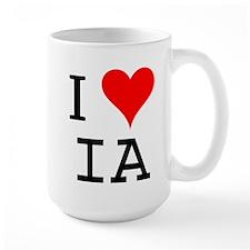 I Love IA Mug