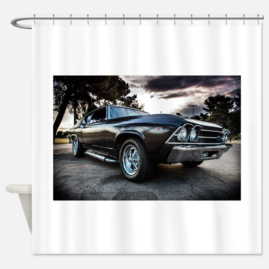 1969 Chevelle Shower Curtain