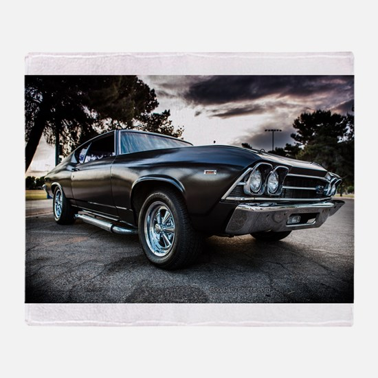 1969 Chevelle Throw Blanket