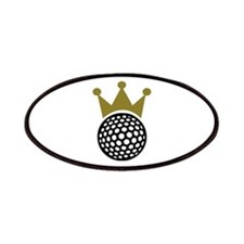 Golf crown Patches