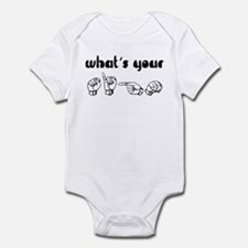 What's Your Sign Infant Bodysuit
