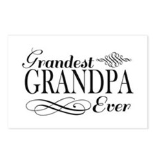 Grandest Grandpa Ever Postcards (Package of 8)