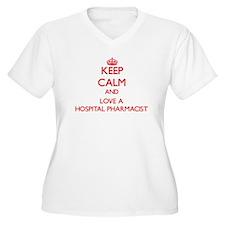 Keep Calm and Love a Hospital Pharmacist Plus Size