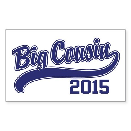Big Cousin 2015 Sticker (Rectangle)