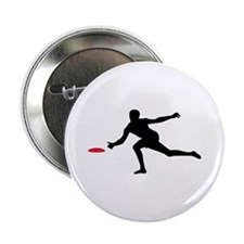 "Discgolf player 2.25"" Button"