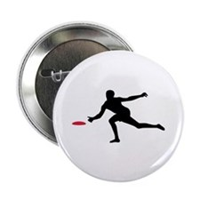 """Discgolf player 2.25"""" Button (10 pack)"""