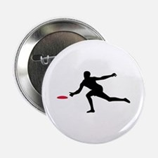 """Discgolf player 2.25"""" Button (100 pack)"""