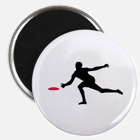 """Discgolf player 2.25"""" Magnet (10 pack)"""
