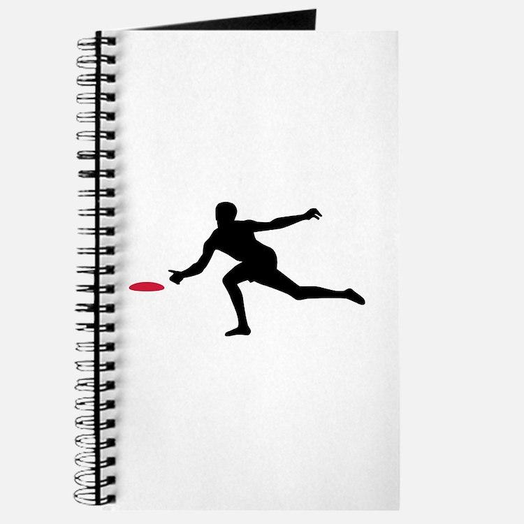 Discgolf player Journal