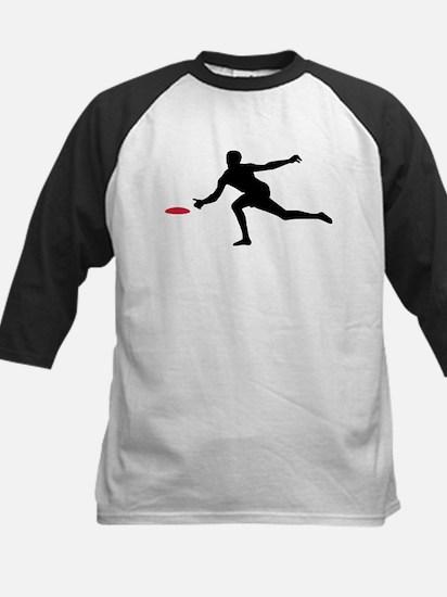 Discgolf player Kids Baseball Jersey