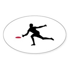 Discgolf player Decal
