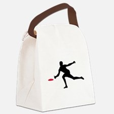 Discgolf player Canvas Lunch Bag