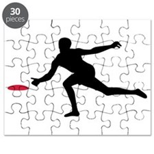 Discgolf player Puzzle