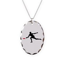 Discgolf player Necklace