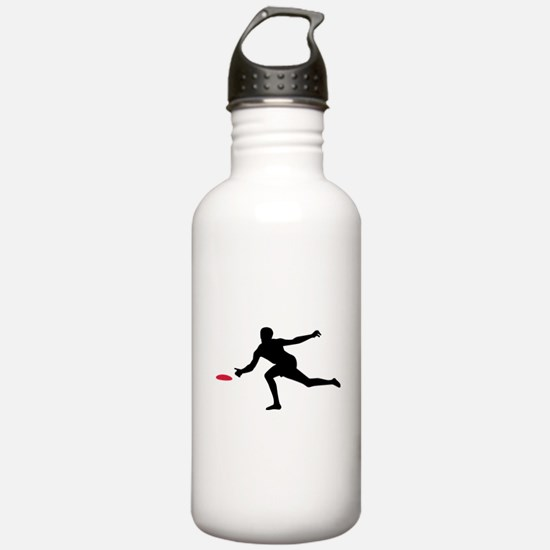 Discgolf player Water Bottle