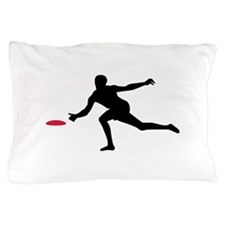 Discgolf player Pillow Case