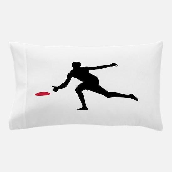 Discgolf player Pillow Case