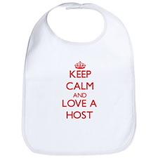 Keep Calm and Love a Host Bib