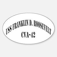 USS FRANKLIN D. ROOSEVELT Decal