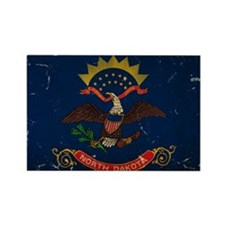 North Dakota State Flag VINTAGE Magnets