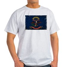 North Dakota State Flag VINTAGE T-Shirt