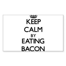 Keep calm by eating Bacon Decal