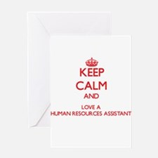 Keep Calm and Love a Human Resources Assistant Gre