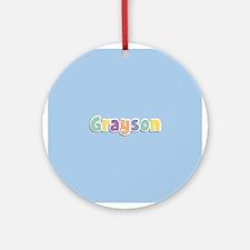 Grayson Spring14 Ornament (Round)