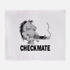 checkmate.png Throw Blanket