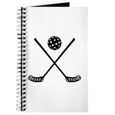 Crossed floorball sticks Journal