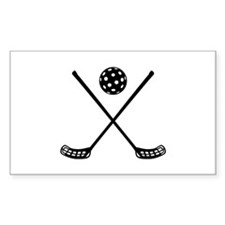 Crossed floorball sticks Decal