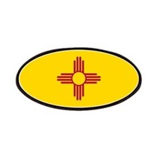New Mexico State Flag Patches