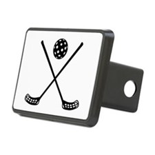 Crossed floorball sticks Hitch Cover