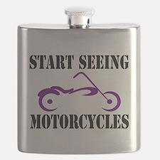 Unique Motorcycles Flask