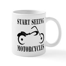 Funny Motorcycle sayings Mug