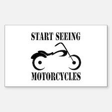 Start Seeing Motorcycles Decal