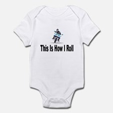 Police-How I Roll Infant Bodysuit